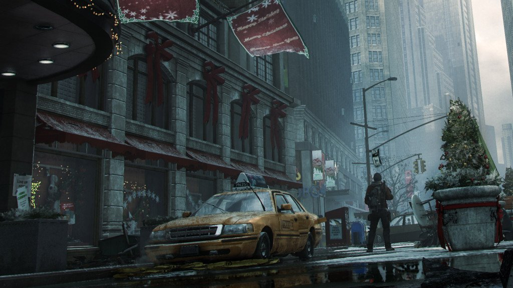 Tom Clancy's The Division City background wallpaper