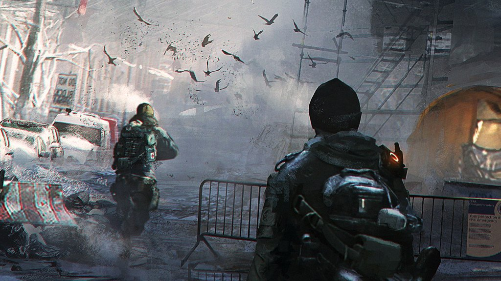 Background wallpaper 1920x1080 Tom Clancy's The Division