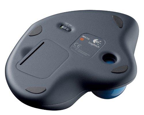 Logitech M570 Wireless Ergonomic Trackball Mouse